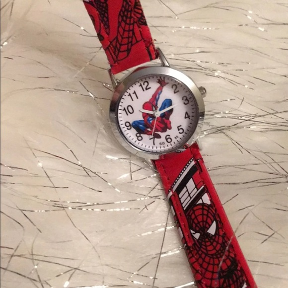Other - Spider-Man leather watch
